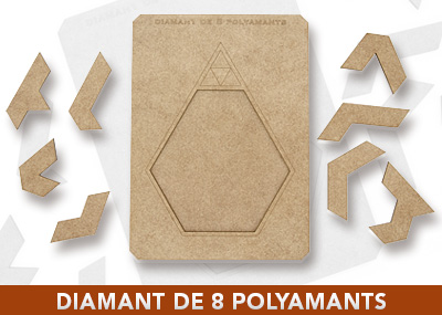 Diamant de 8 polyamants