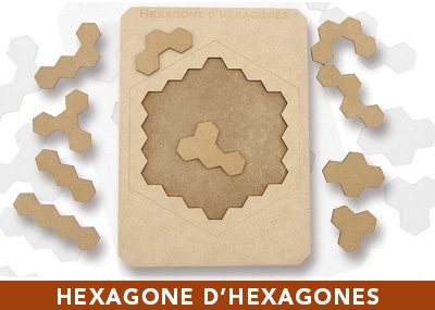 Hexagone d'hexagones