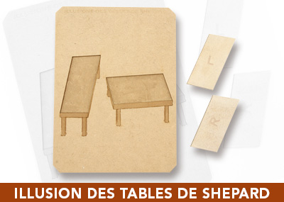 Illusion des tables de Shepard