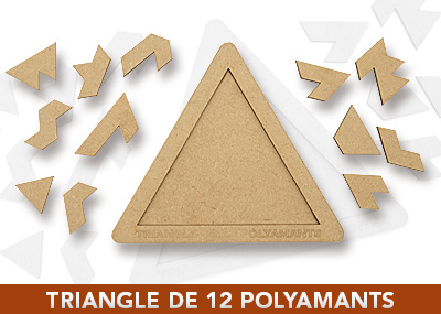 Triangle de 12 polyamants