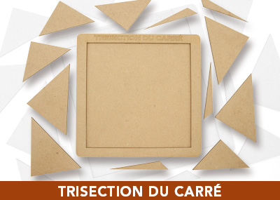 Trisection du carre