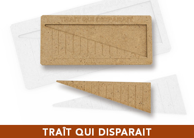 Trait qui dispara�t