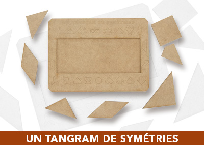 Un tangram de symétries